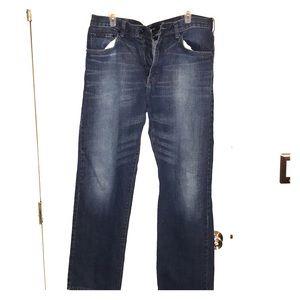 Men's Calvin Klein jeans.